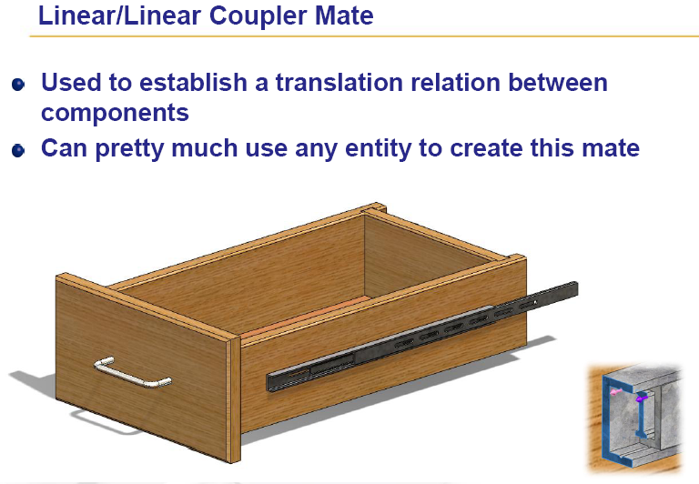 LINEAR COUPLER MATE