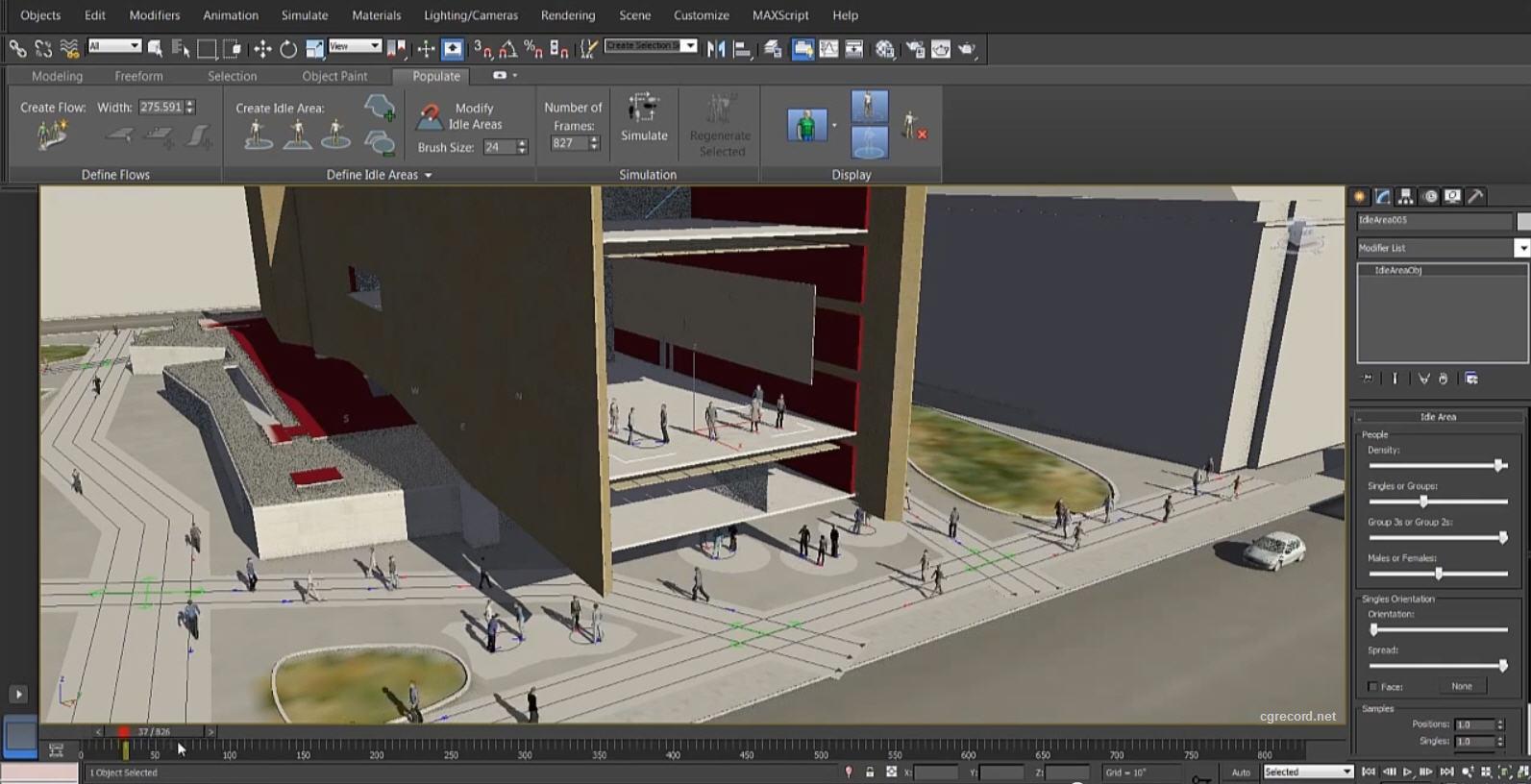 Modelado animacion en 3d for Programas arquitectura