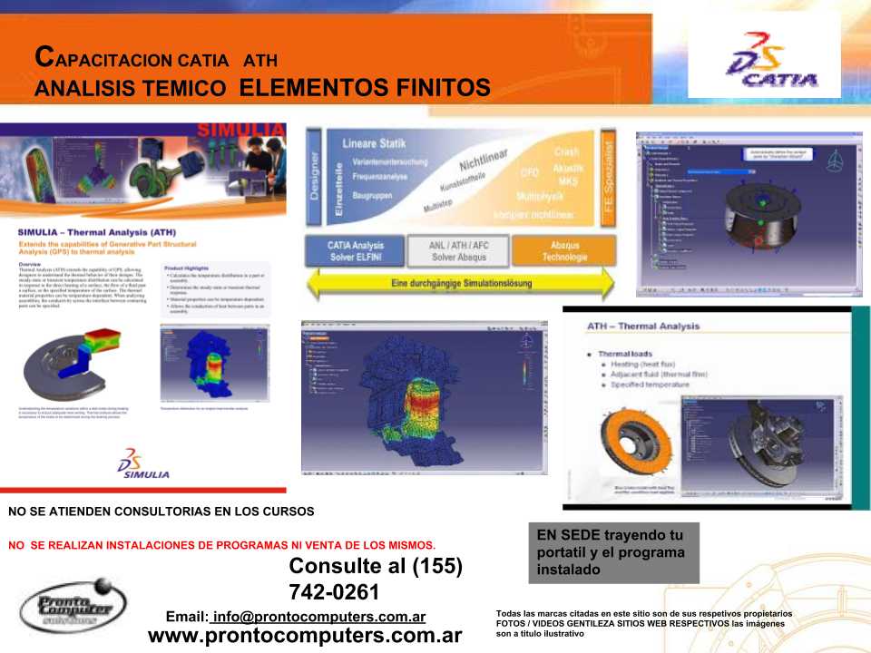 ATH CATIA FEA THERMAL